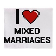 Unique Mixed marriages Throw Blanket