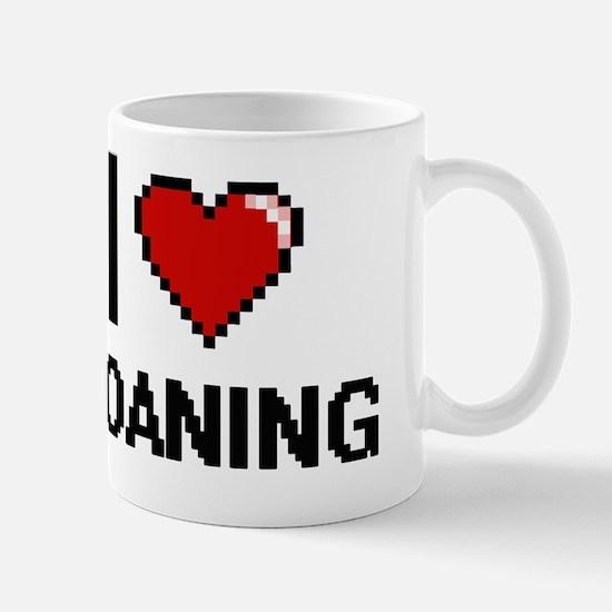 Cute I heart carp Mug