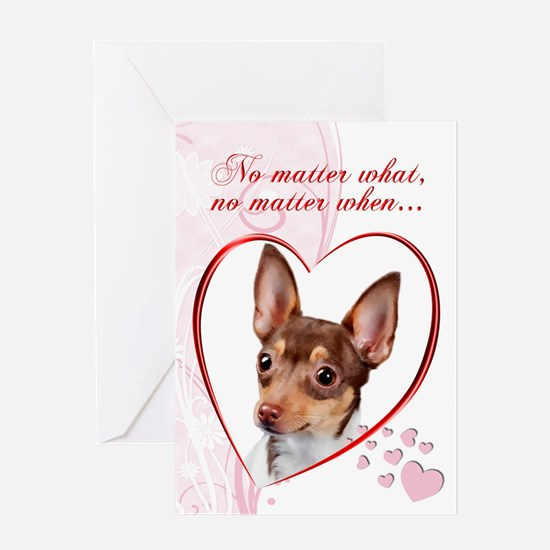 Toy Fox Terrier Valentine Greeting Cards