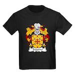 Seguro Family Crest Kids Dark T-Shirt