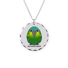 Blue Fronted Amazon Necklace