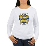 Saravia Family Crest Women's Long Sleeve T-Shirt