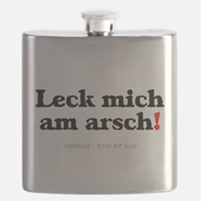 GERMAN - KISS MY ASS! Flask
