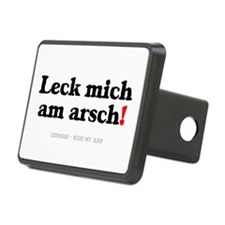 GERMAN - KISS MY ASS! Hitch Cover