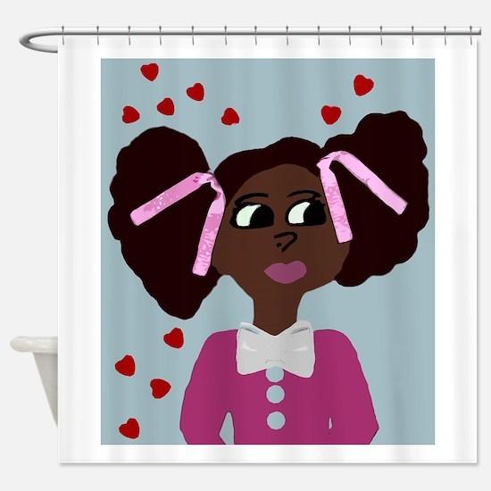 Make A Wish Sandy Shower Curtain