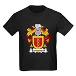 Santander Family Crest Kids Dark T-Shirt
