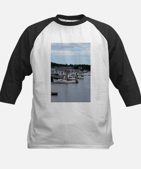 """Boothbay Harbor """"On the Waterfront Baseball Jersey"""