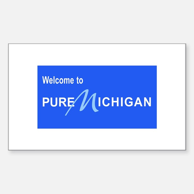 Welcome to Pure Michigan Decal