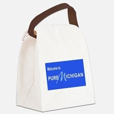 Welcome to Pure Michigan Canvas Lunch Bag