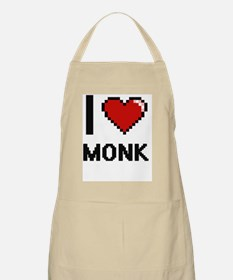 I Love Monk Apron
