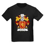 Sanchiz Family Crest Kids Dark T-Shirt