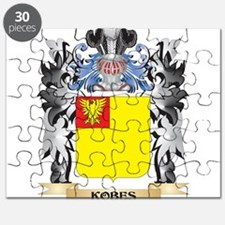 Kobes Coat of Arms - Family Crest Puzzle