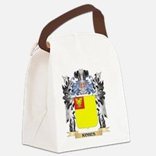 Kobes Coat of Arms - Family Crest Canvas Lunch Bag