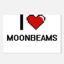I Love Moonbeams Postcards (Package of 8)