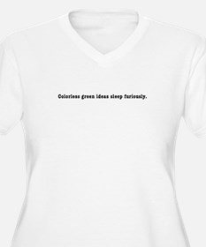 "Chomsky ""Colorless Green"" T-Shirt"