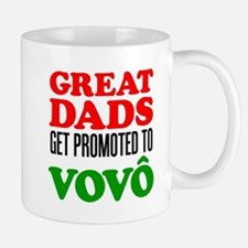 Promoted To Vovo (Grandpa) Drinkware Mugs