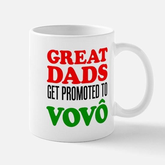 Promoted To Vovo (Grandpa) Drinkware Mugs
