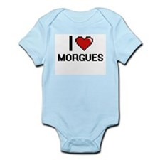 I Love Morgues Body Suit