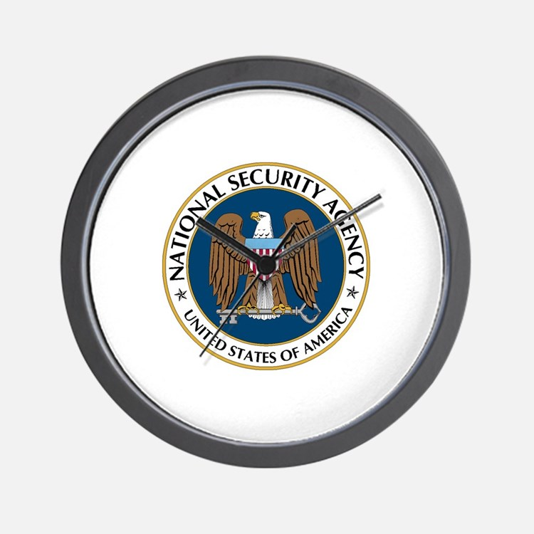 NSA - NATIONAL SECURITY AGENCY Wall Clock