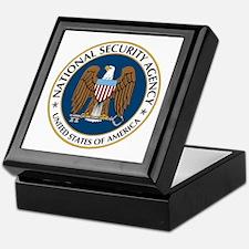NSA - NATIONAL SECURITY AGENCY Keepsake Box