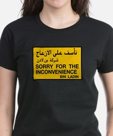 Sorry for the Inconvenience, Tee