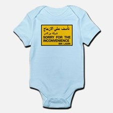 Sorry for the Inconvenience, UAE Infant Bodysuit