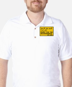 Sorry for the Inconvenience, UAE T-Shirt