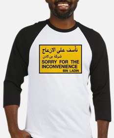 Sorry for the Inconvenience, UAE Baseball Jersey