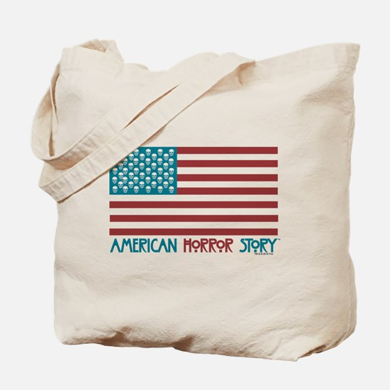 American Horror Story Flag Tote Bag