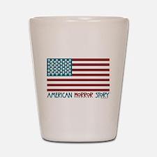 American Horror Story Flag Shot Glass