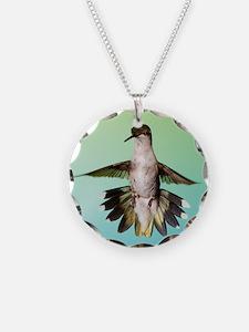 Female Hummingbird Necklace