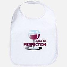 Aged to Perfection Wine Glass Bib