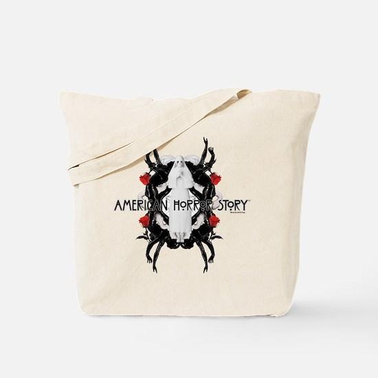 American Horror Story White Nun Rubber Ma Tote Bag