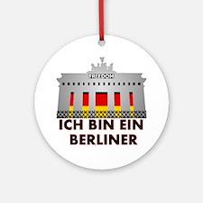Cute Berlin Round Ornament