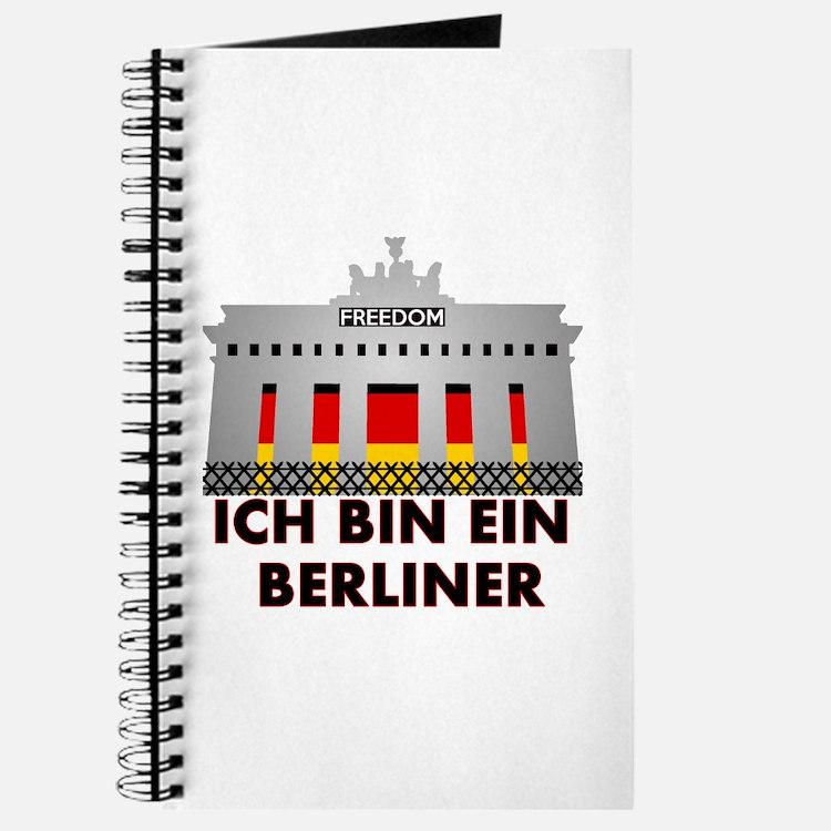 Cute Ich bin ein berliner Journal
