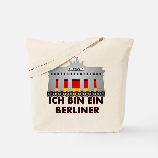 Funny Berlin Tote Bag