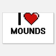 I Love Mounds Decal