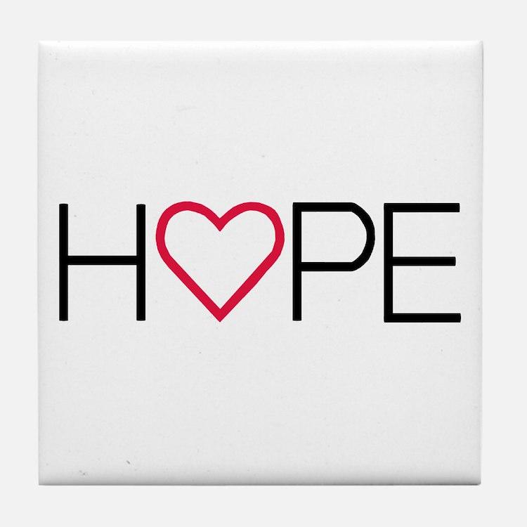 Cute Getting hopeful Tile Coaster