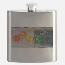 Cute Rpg dice Flask