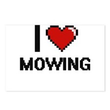 I Love Mowing Postcards (Package of 8)