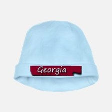 Georgia state flag baby hat