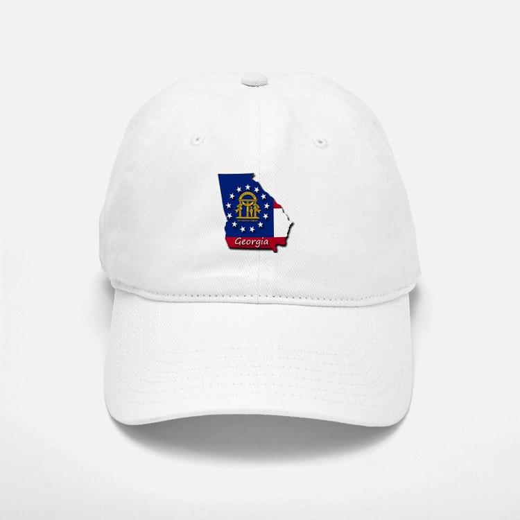 Georgia state flag Baseball Baseball Cap