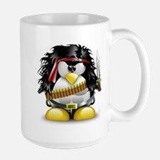 LINUX RAMBO Mugs