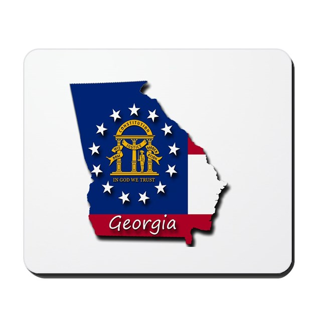 Georgia State Flag Mousepad By Admin Cp129519821