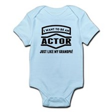 Actor Just Like My Grandpa Body Suit