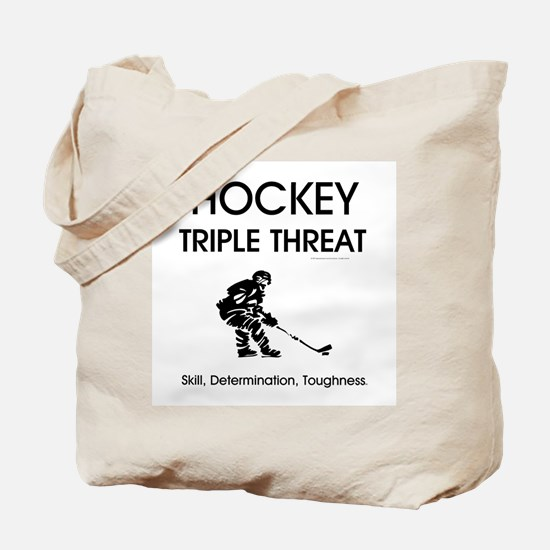 TOP Ice Hockey Slogan Tote Bag