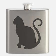 Cool Cat design Flask