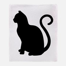 Cute Cat design Throw Blanket