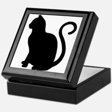 Unique Cat design Keepsake Box
