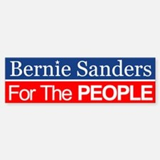 Bernie For The People Bumper Bumper Bumper Sticker